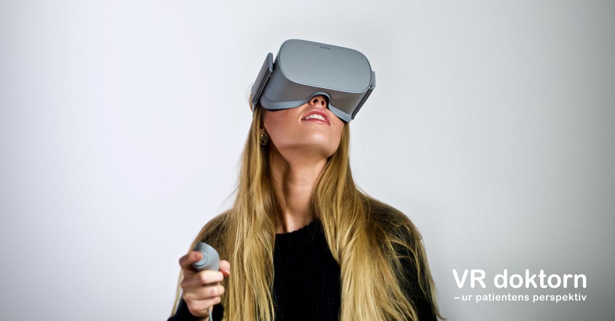 Nytt verktyg: VR-doktorn stärker patienter i mötet med vården