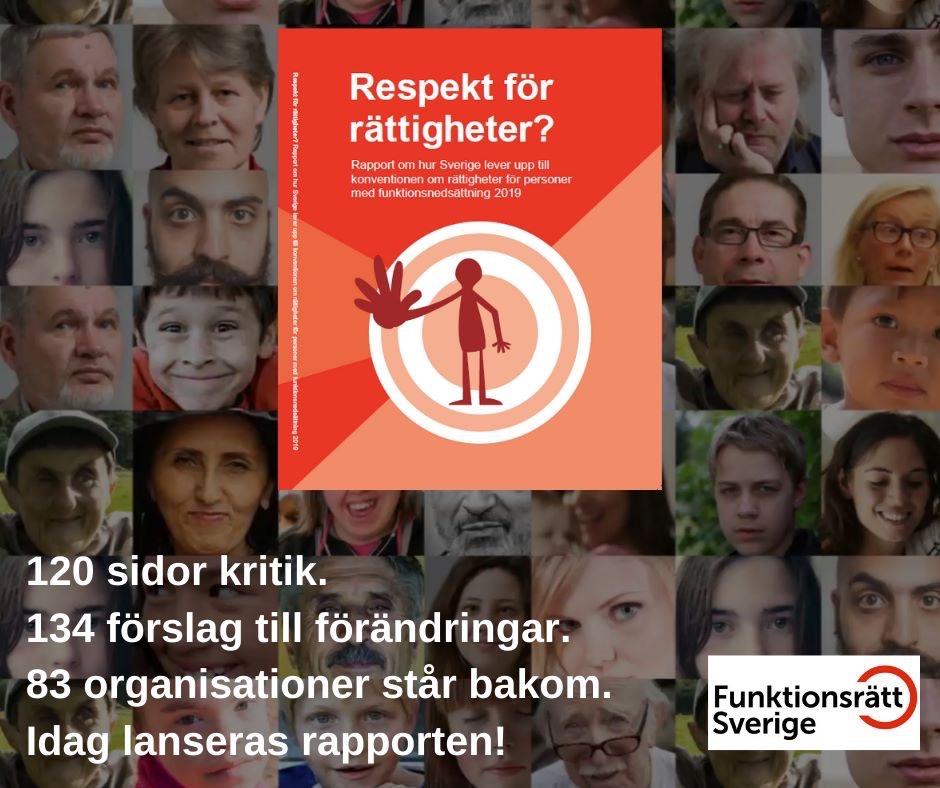 """Ny rapport: """"Respekt för rättigheter?"""""""